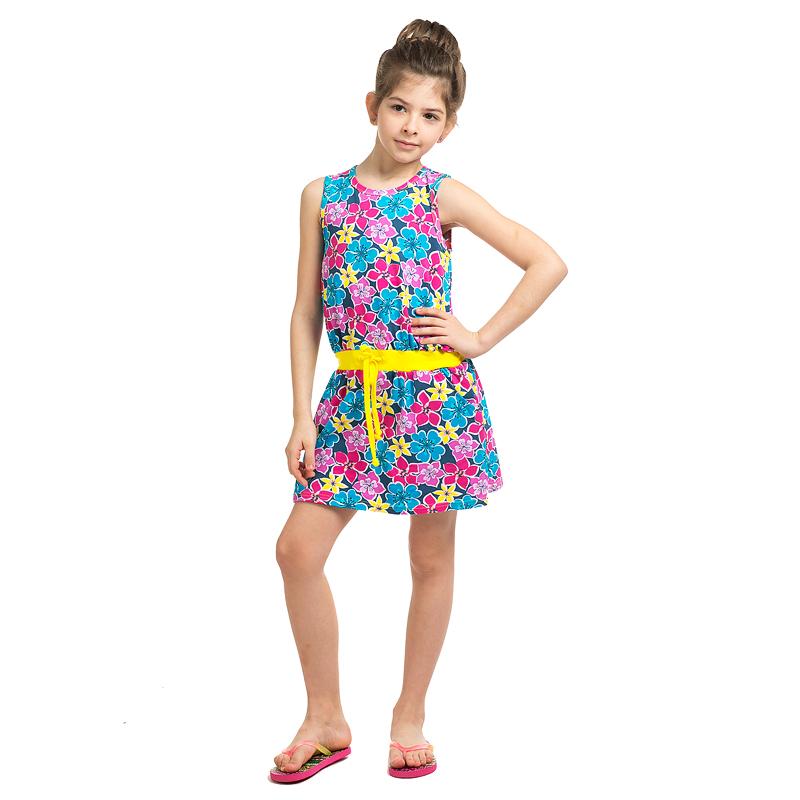 летние сарафаны для девочек мухомор